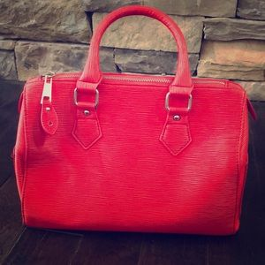 JustFab Red Tote